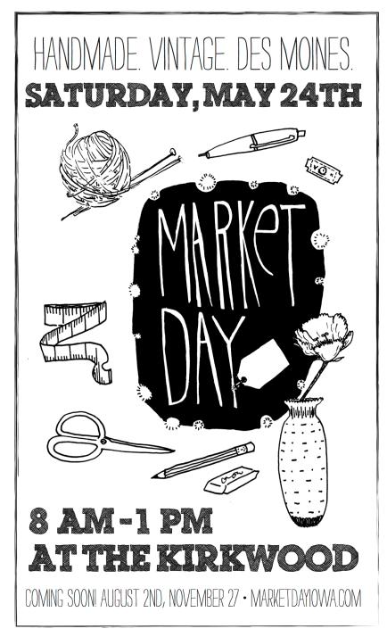 Market Day digital flyer
